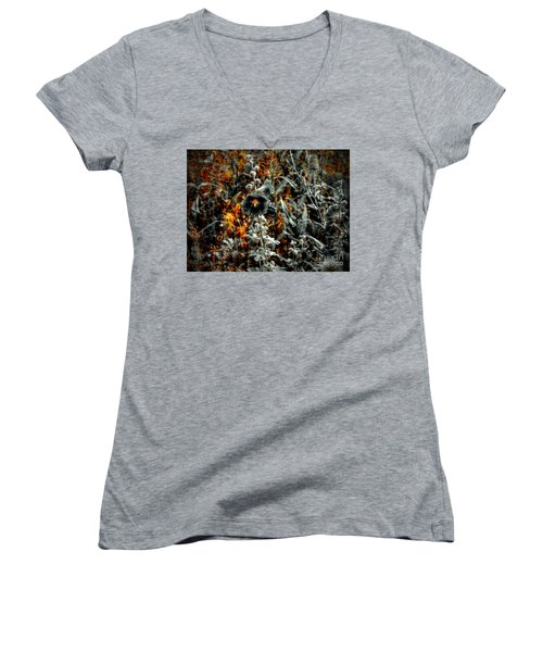 We Fade To Grey Changes Women's V-Neck