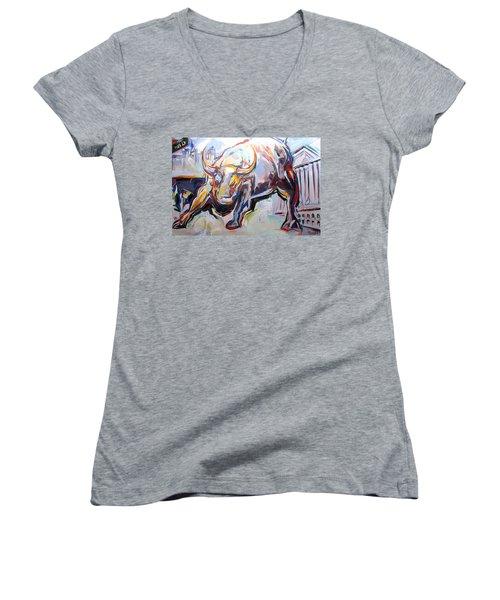 Wealth Women's V-Neck T-Shirt