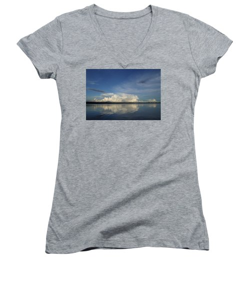 Weather From Tampa Bay 871 Women's V-Neck T-Shirt