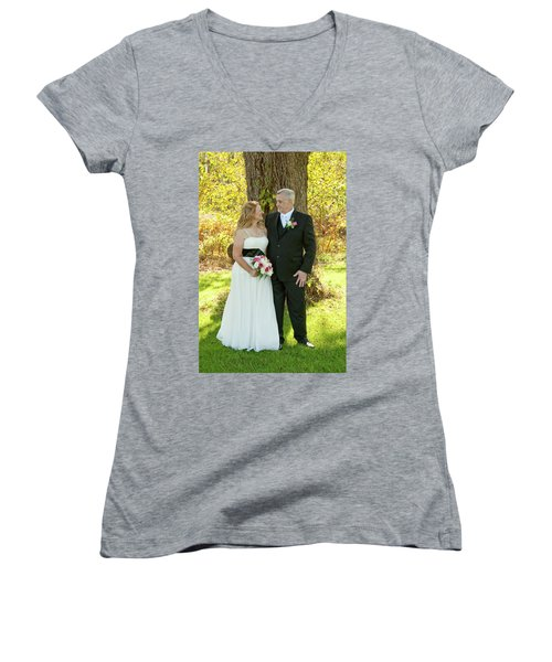 Wedding 2-6 Women's V-Neck (Athletic Fit)