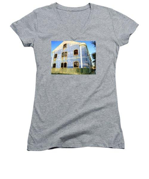 Weeping Windows Women's V-Neck T-Shirt