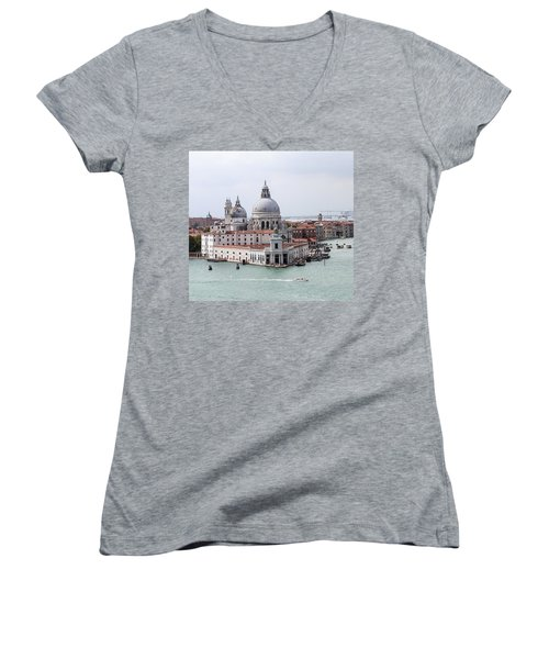 Welcome To Venice Women's V-Neck T-Shirt