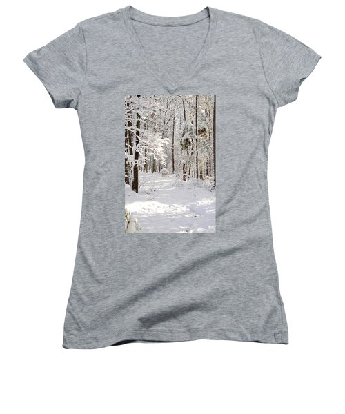 Well Women's V-Neck (Athletic Fit)