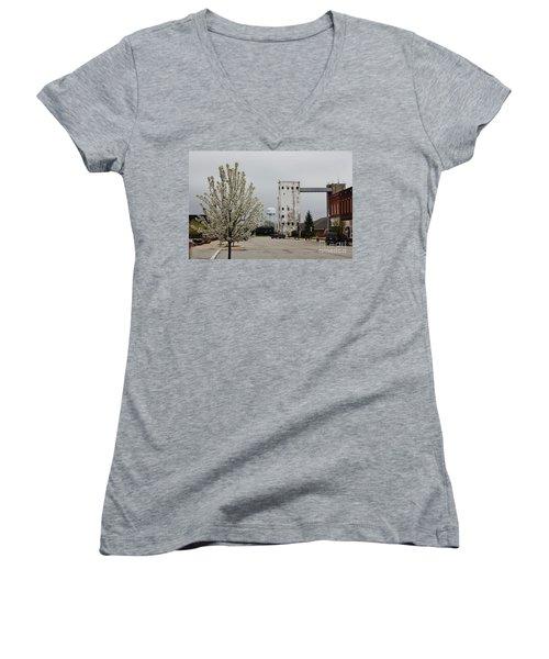 West Reed Street Women's V-Neck T-Shirt