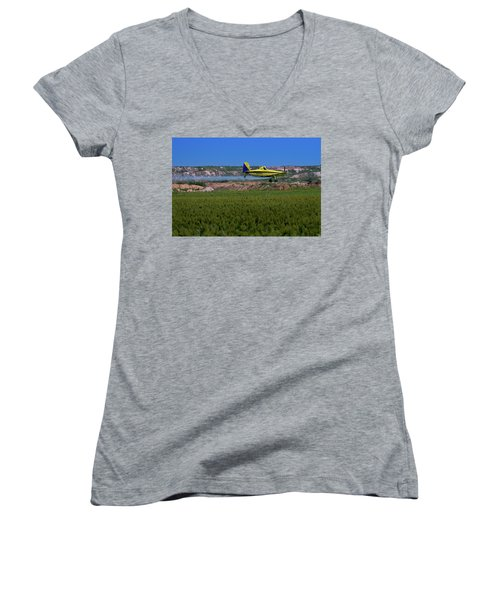 West Texas Airforce Women's V-Neck