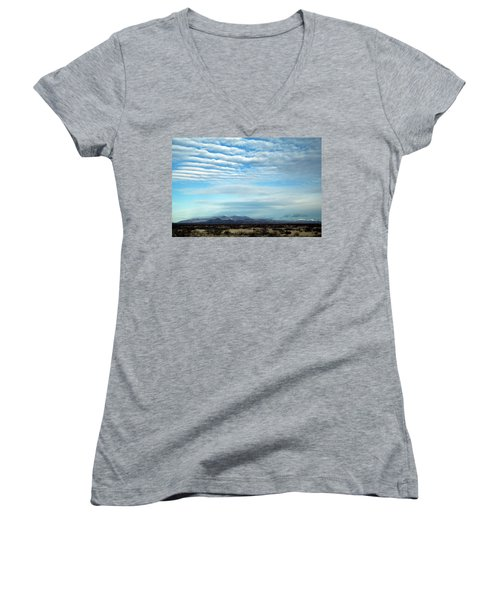 West Texas Skyline #2 Women's V-Neck