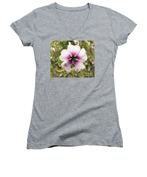 Western Australian Native Hibiscus Women's V-Neck T-Shirt