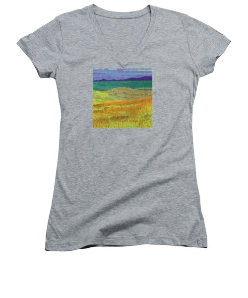 Western Edge Prairie Dream Women's V-Neck