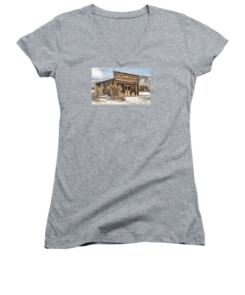 Western Saloon Women's V-Neck