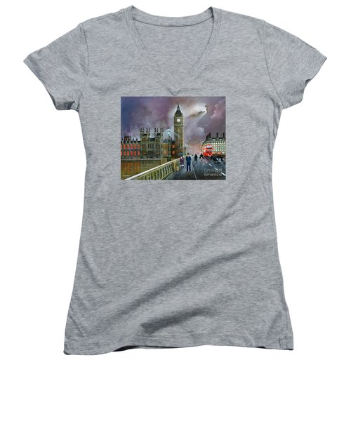 Westminster Bridge Women's V-Neck