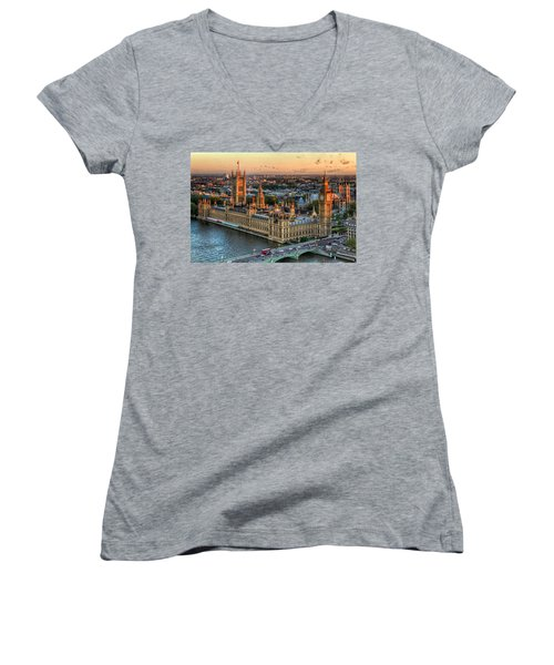 Westminster Palace Women's V-Neck (Athletic Fit)