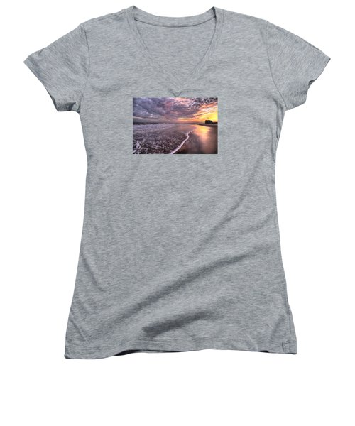 Wet Boots Women's V-Neck T-Shirt
