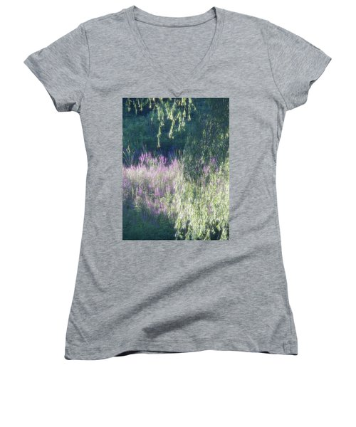Wetlands Impressions Women's V-Neck T-Shirt