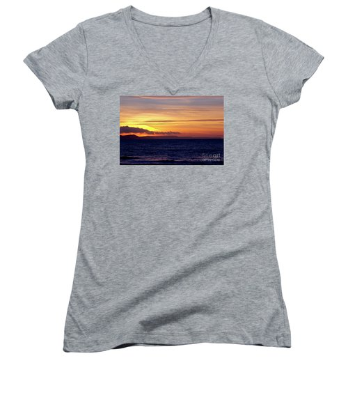 Weymouth To Purbeck Women's V-Neck T-Shirt