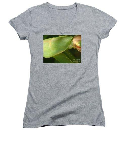 What Am I? #1 Women's V-Neck T-Shirt (Junior Cut) by Christina Verdgeline