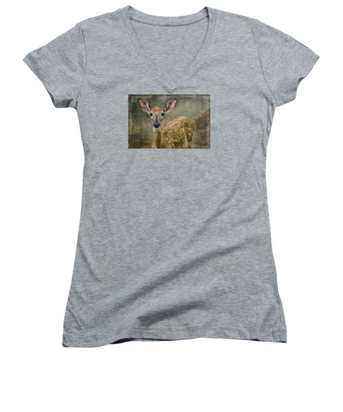 What Big Ears You Have Women's V-Neck T-Shirt