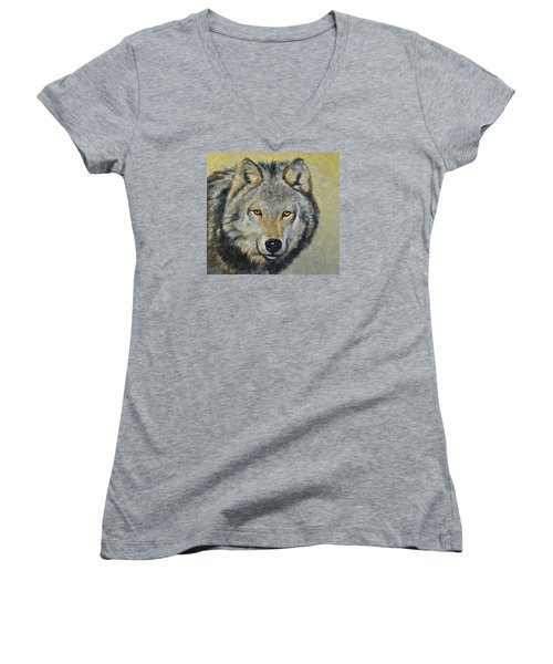 Heres Lookn At You..kid....kid....kid Women's V-Neck T-Shirt (Junior Cut)