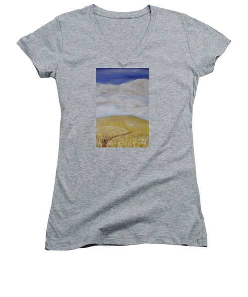 What Is Beyond? Women's V-Neck