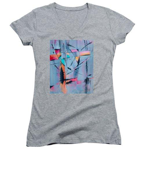 What Lies Beneath Women's V-Neck T-Shirt