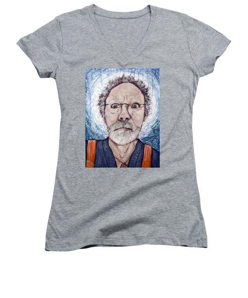 What Women's V-Neck T-Shirt