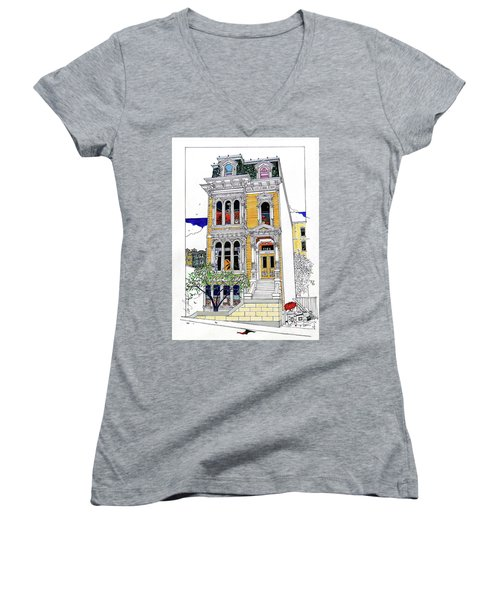 What's In Your Window? Women's V-Neck (Athletic Fit)