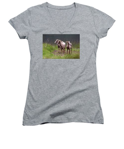 Whats Next Women's V-Neck (Athletic Fit)
