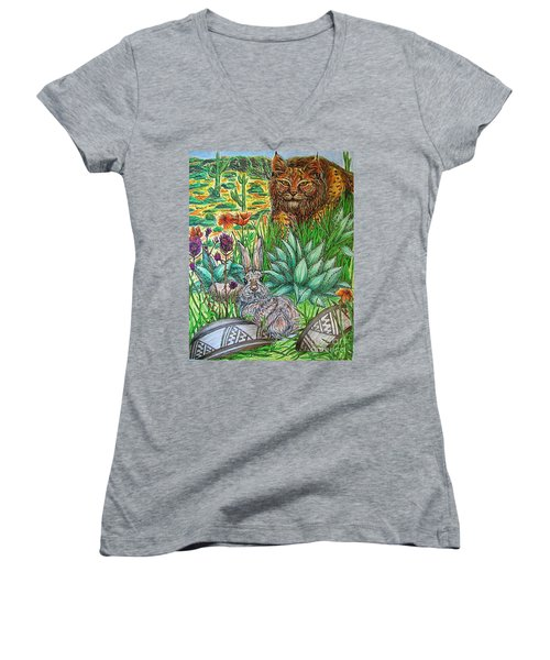 What's That...? Women's V-Neck (Athletic Fit)