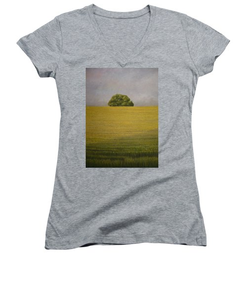 Wheat Field Women's V-Neck