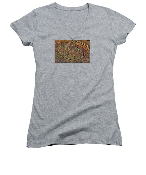 Wheel Of Fortune Women's V-Neck (Athletic Fit)