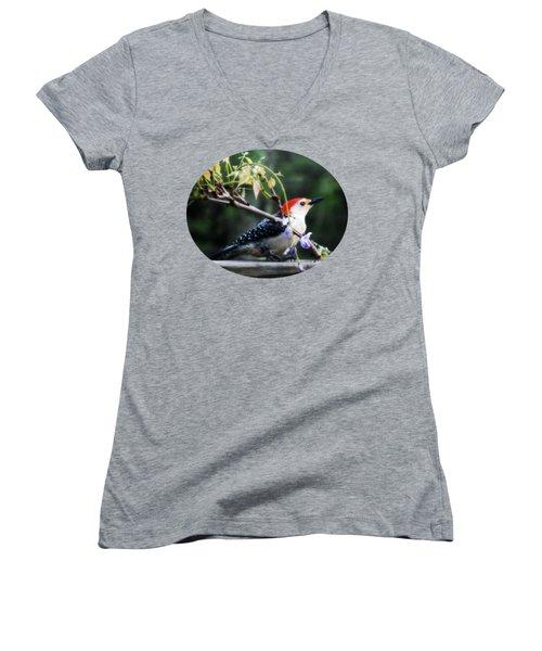 When  Women's V-Neck T-Shirt (Junior Cut) by Anita Faye