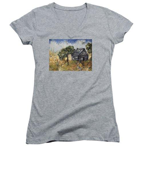 When September Ends Women's V-Neck T-Shirt