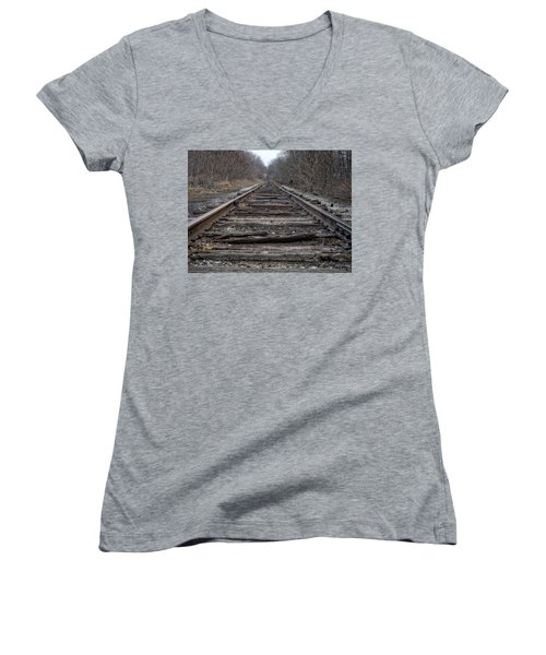 Where Are You Going? Women's V-Neck