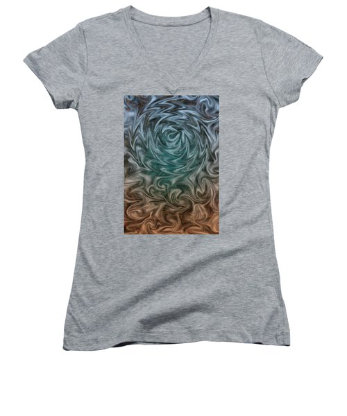 Wherever You Go, There You Are Women's V-Neck T-Shirt
