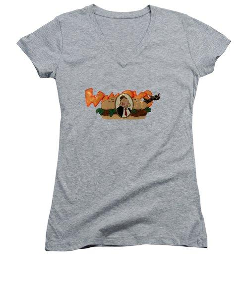 Whimpy Women's V-Neck T-Shirt (Junior Cut)