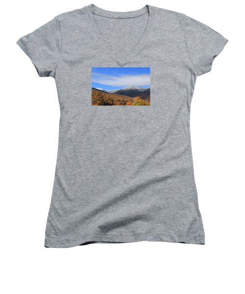 White Mountains Women's V-Neck (Athletic Fit)