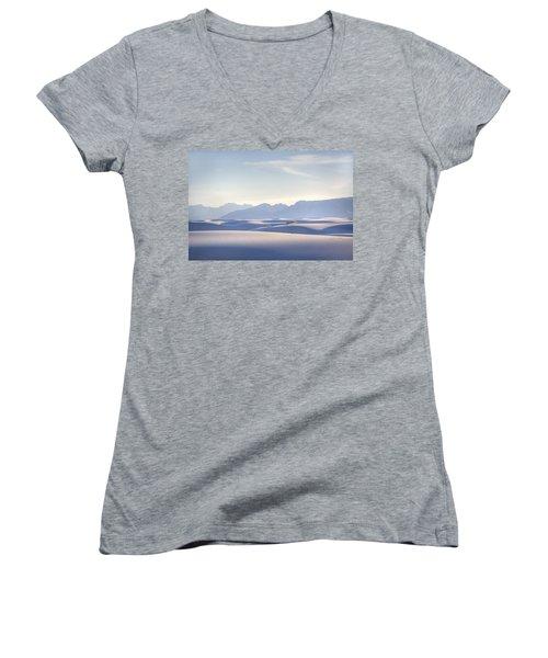 White Sands Blue Sky Women's V-Neck