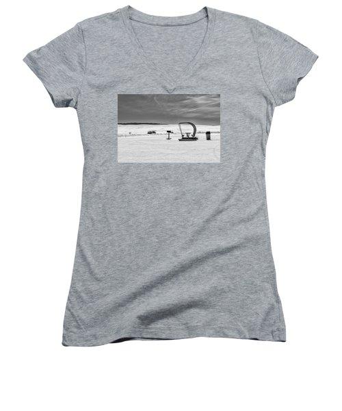 White Sands National Monument #9 Women's V-Neck