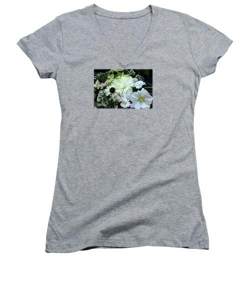 Whites And Pastels Women's V-Neck T-Shirt