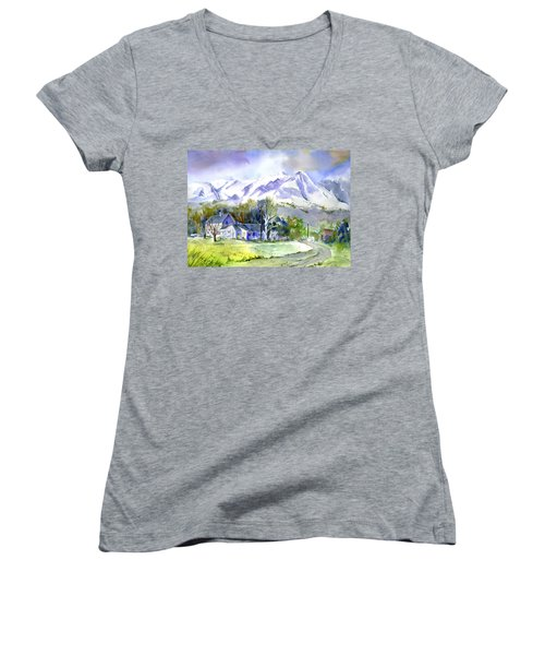 Whitney's White House Ranch Women's V-Neck