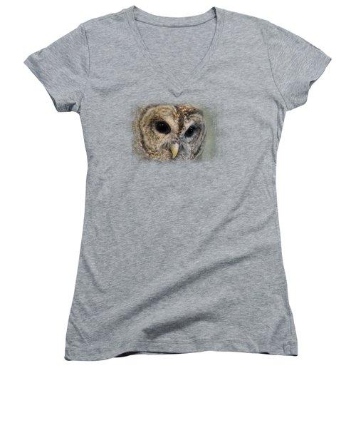 Who Loves Ya Baby? Women's V-Neck T-Shirt