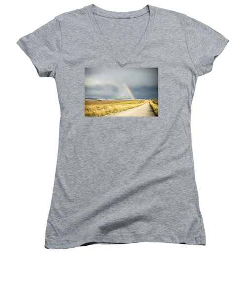 Wide Open Spaces Women's V-Neck