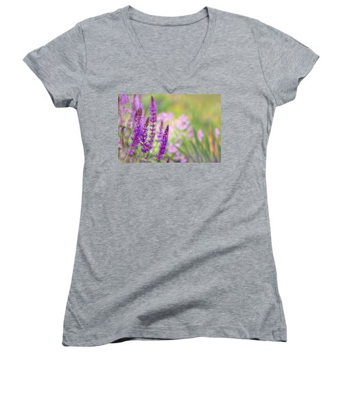 Wild Flower Women's V-Neck