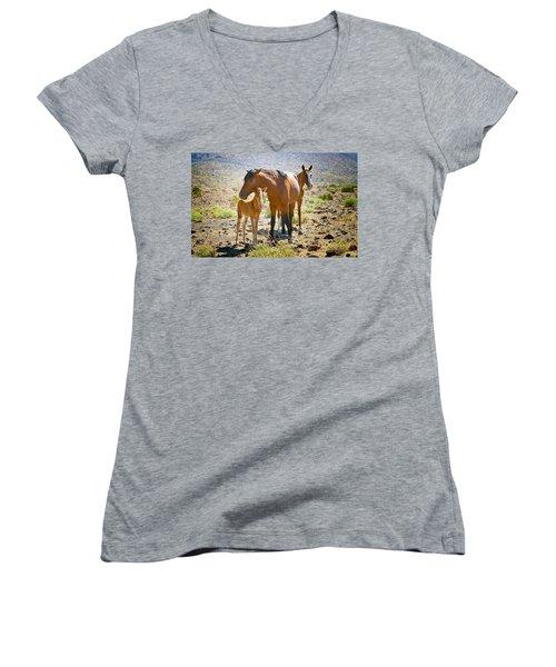 Wild Horse Family Women's V-Neck