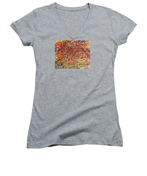Wildflowers Dancing With The Light Women's V-Neck (Athletic Fit)