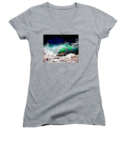 Wind And Waves Women's V-Neck T-Shirt