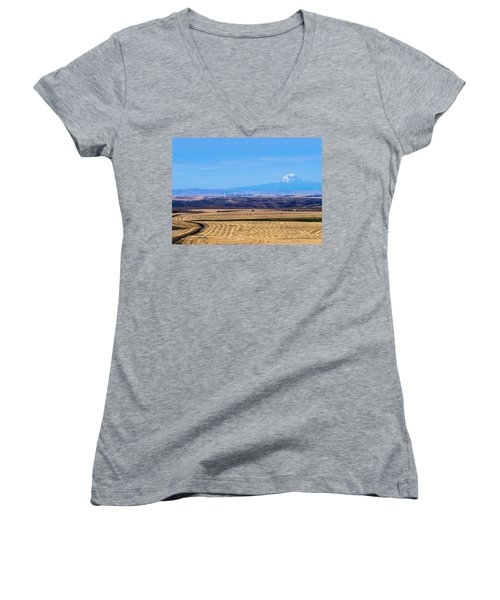 Wind And Wheat Women's V-Neck (Athletic Fit)