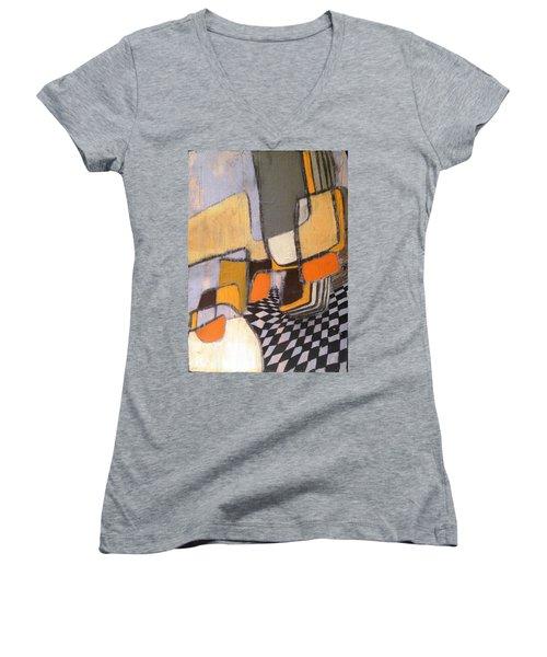 Winding Women's V-Neck T-Shirt