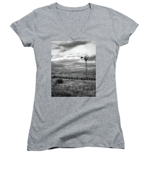 Windmill Women's V-Neck T-Shirt