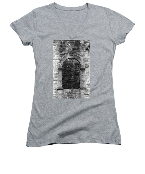 Window At Donegal Castle Ireland Women's V-Neck