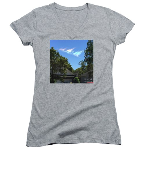 Window From Heaven Women's V-Neck